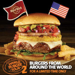 Local Legendary™ Burgers from Around the World Return to Hard Rock Cafe for an Encore Performance