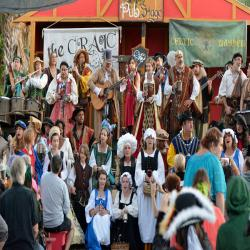"Florida Renaissance Festival's 24th season ""Renaissance around the World"""